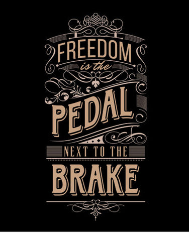 freedom is the pedal next to the brake car t shirts hoodies
