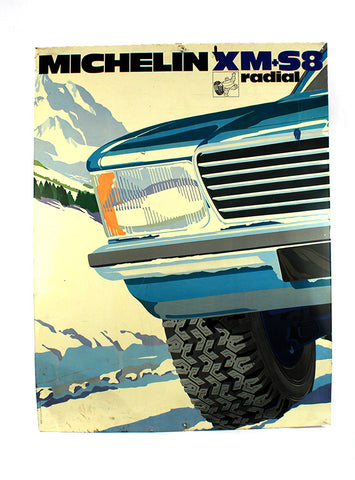 Vintage Signs - Michelin XM-S8 Tires