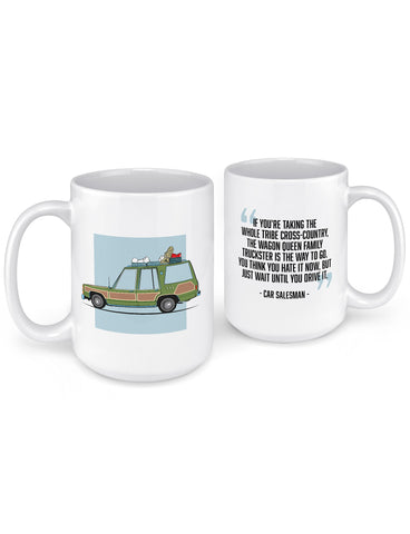 griswolds truckster movie car coffee mug funny coffee mugs front back