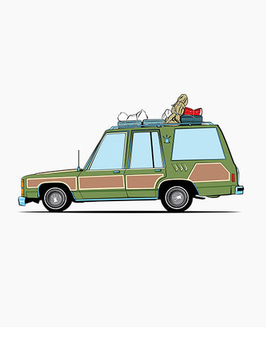 griswolds truckster movie car shirts hoodies flat