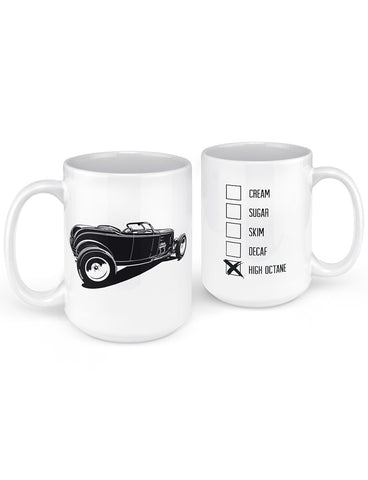 Hot Rod 1932 Roadster High Boy Coffee Mug