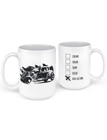 hot rod mug classic car gifts front back