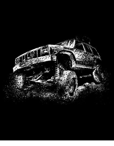 Lifted Truck Mudding Off Roading T Shirts Hoodies flat
