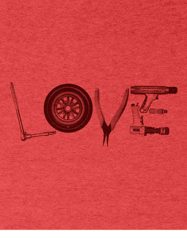 love tools mechanic t shirt mens car shirts