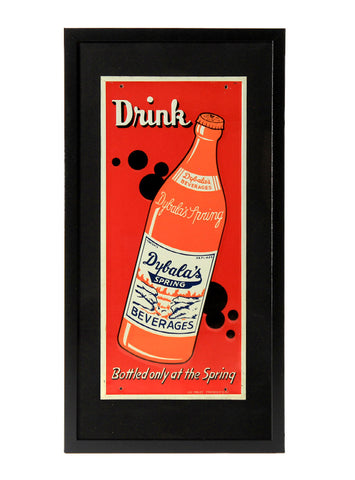 man cave decor drink dybalas spring framed