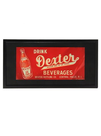 man cave decor drink dexter beverages framed