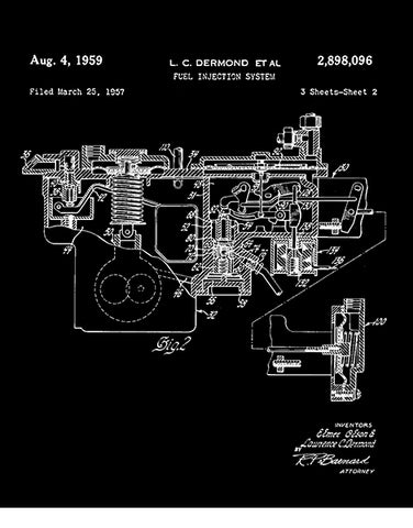 mechanic t shirts 1959 fuel injected engine patent t shirt