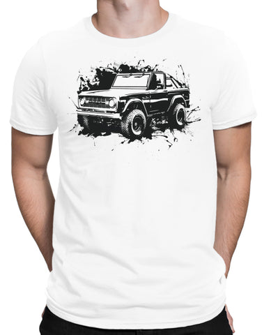 off road shirts mens white