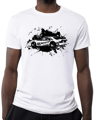 protofab pony car race car mens t shirt