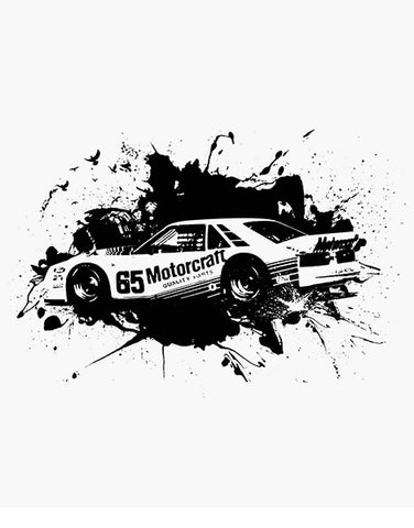 protofab pony car race car shirt racing shirts