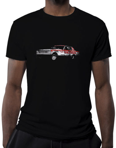 ramchargers racing shirts muscle car shirts mens