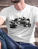 rat rod t shirt mens car shirts