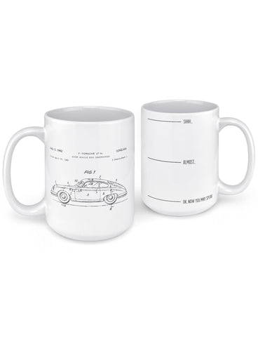 unique coffee mugs 1962 356 patent front back