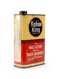 vintage oil cans kushion king fluid