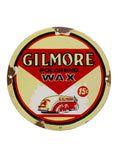 Vintage Signs 1951 Gilmore Polishing Wax 15 Cents Porcelain Sign