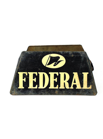 vintage signs federal tires stand