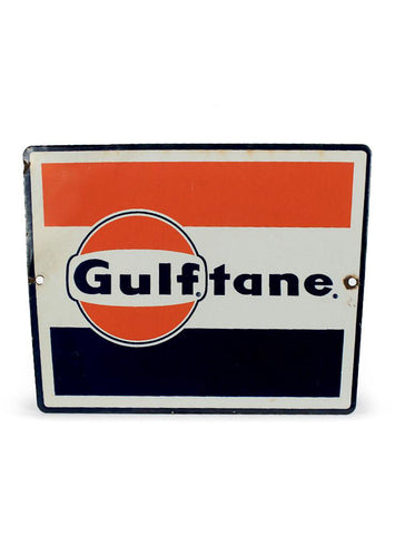Vintage signs gulf gulftane sign