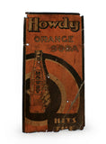 vintage signs howdy orange soda