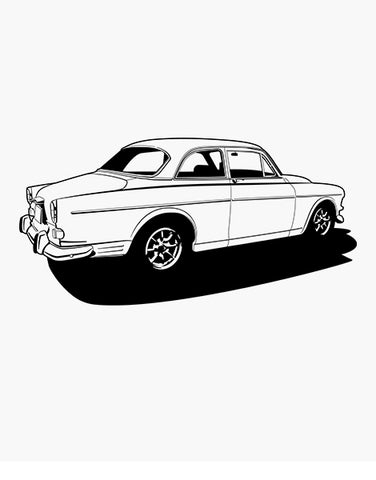 volvo 122 t shirt car shirts