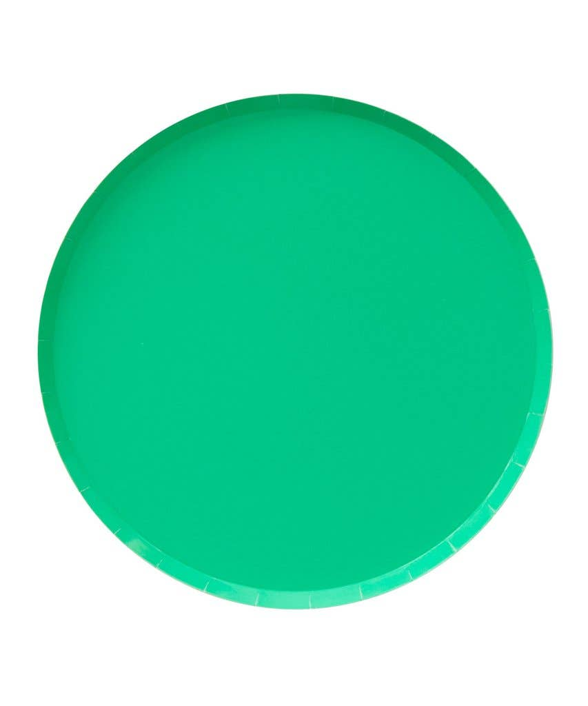 Kelly Green Plates - Large (PRE ORDER)