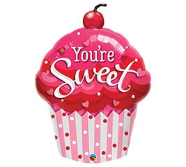 You're Sweet Cupcake Balloon