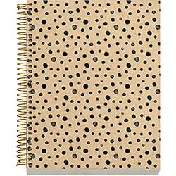 Spotted Dot Spiral Notebook, Small
