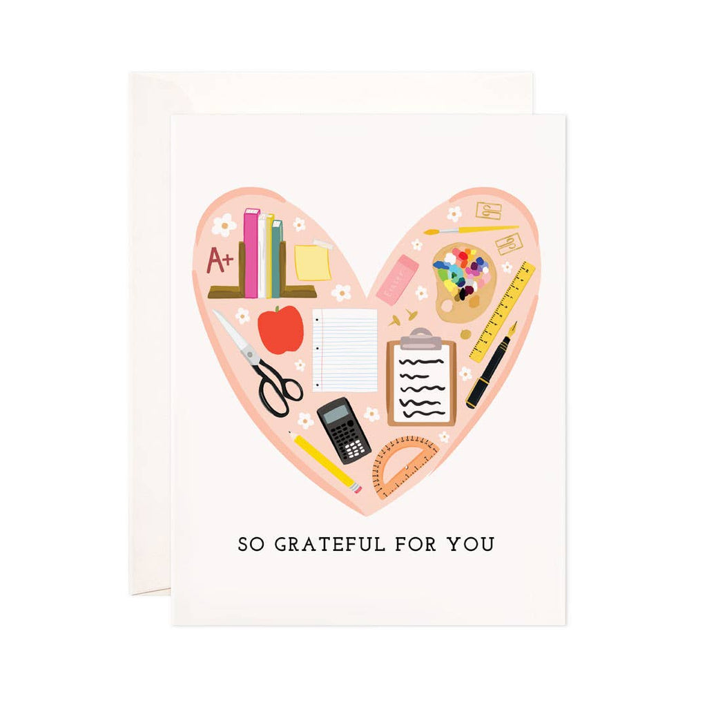 Teacher Grateful Greeting Card