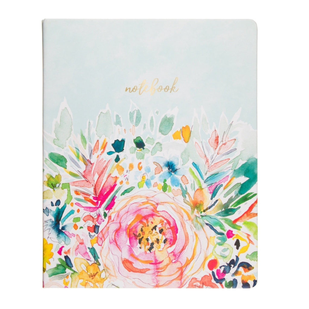 eccolo barbarian floral desk notebook
