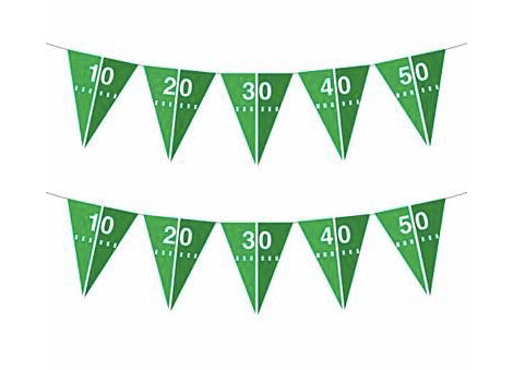 Party Secret Football Flag Banner