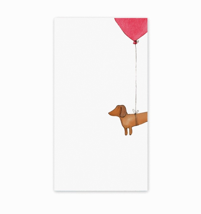 e frances dog notepad