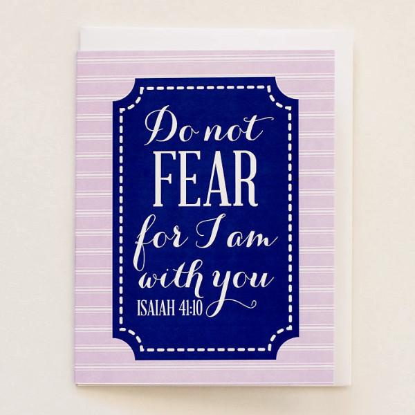 Do Not Fear - Print&Paper