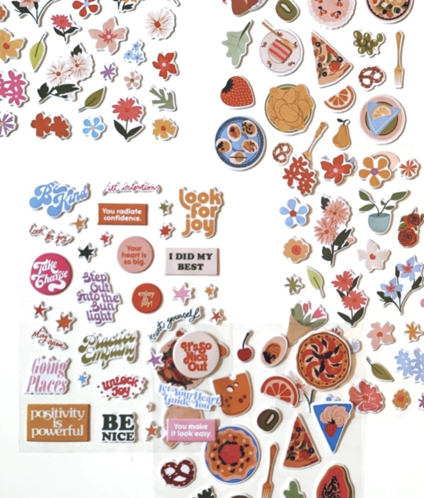 Puffy Stickers by ban.do