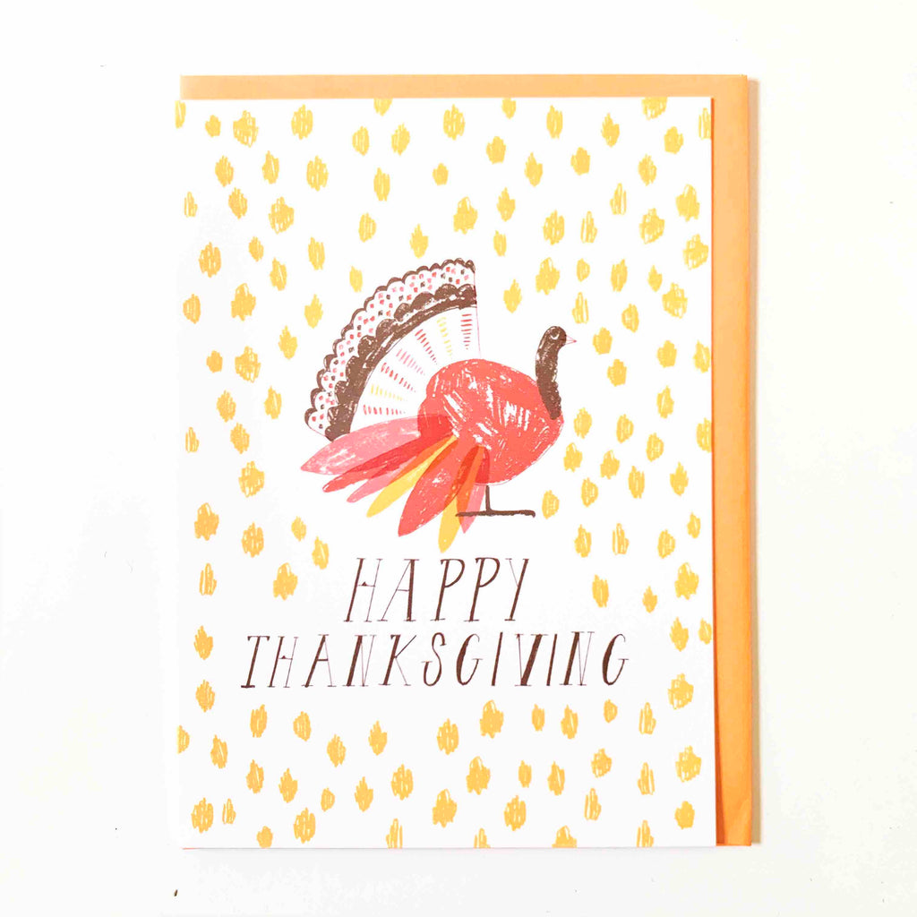 Thanksgiving Bird Card