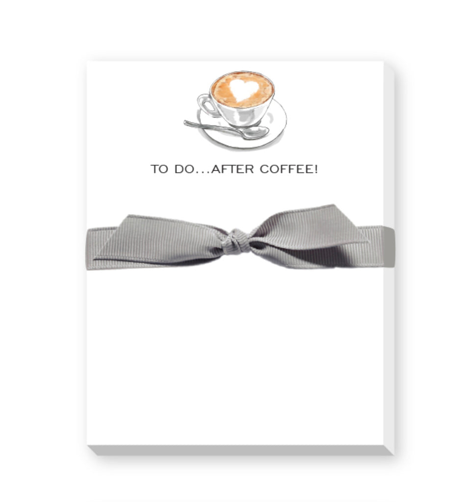 coffee lovers notepad