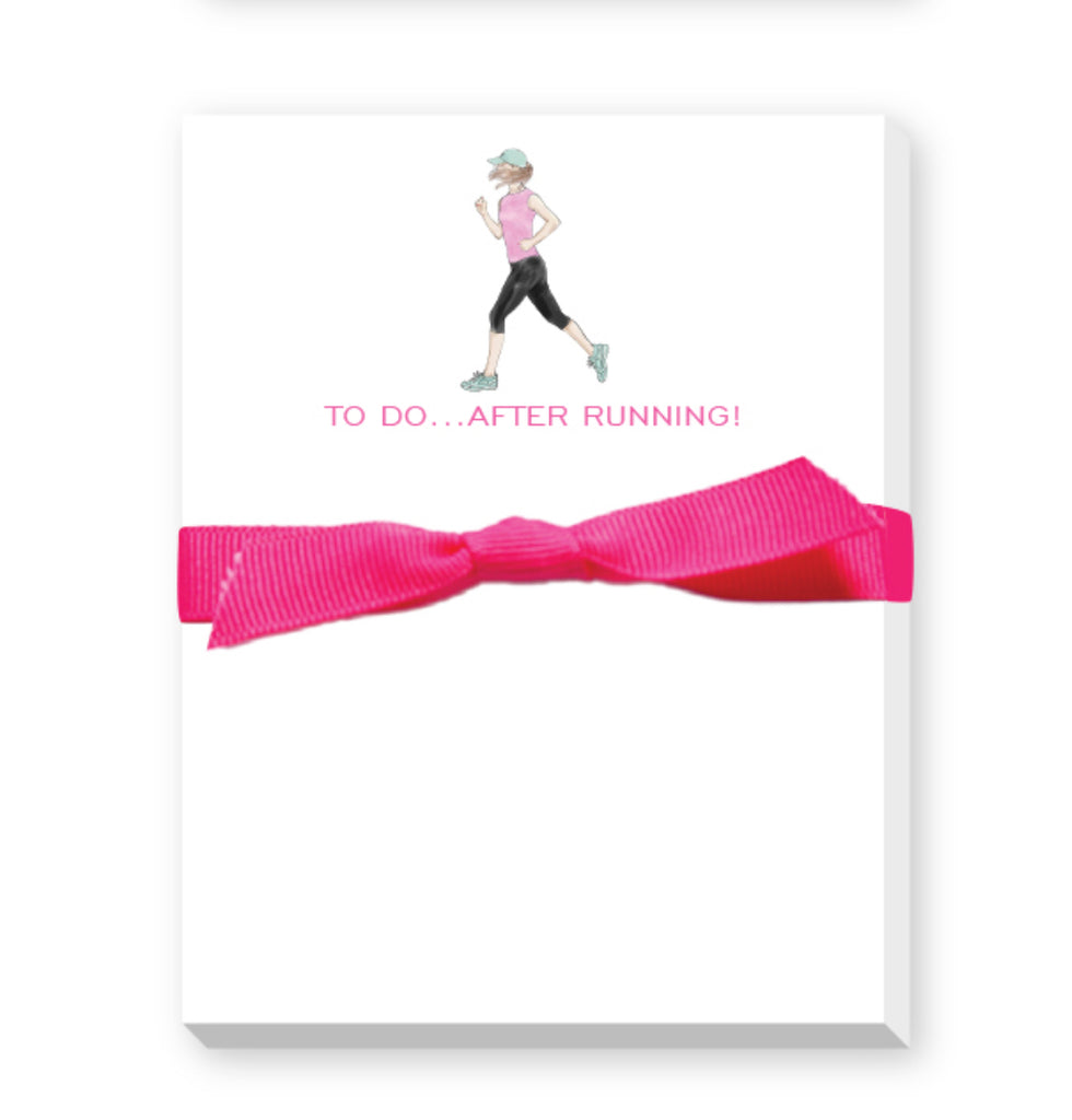 runners notepad
