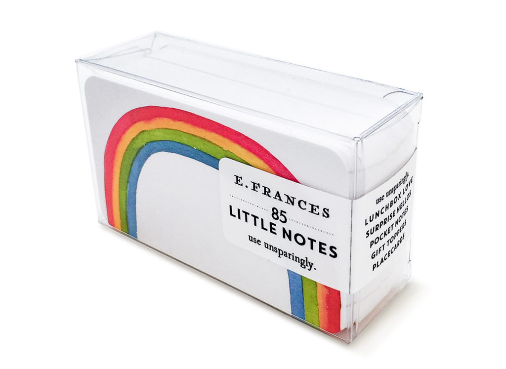 e frances rainbow little notes