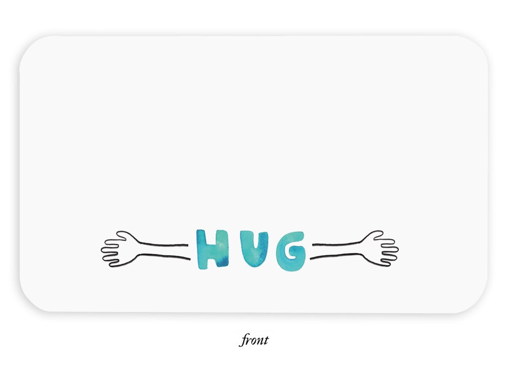 Hug Little Notes
