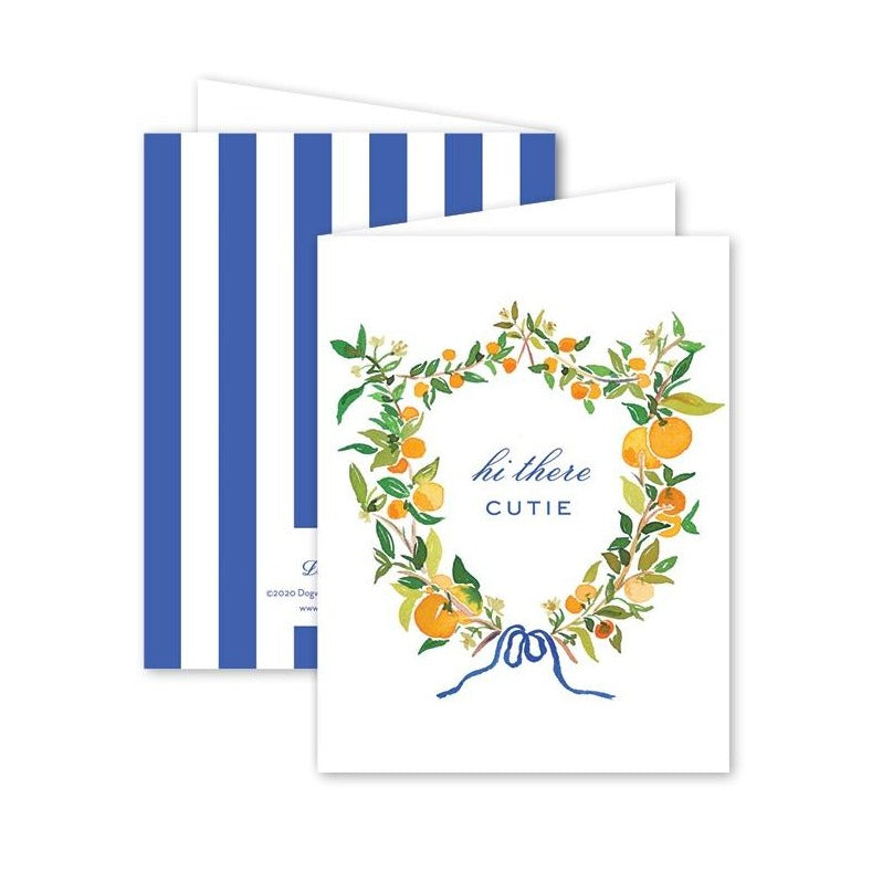Clementine Card