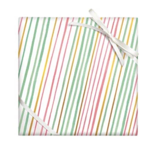 paper source stripe wrapping paper