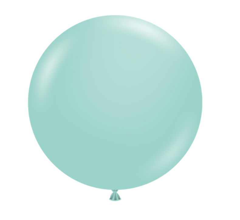 "Sea Glass Blue 36"" Jumbo Balloons"
