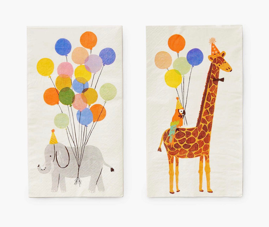 Party Animals Guest Napkins