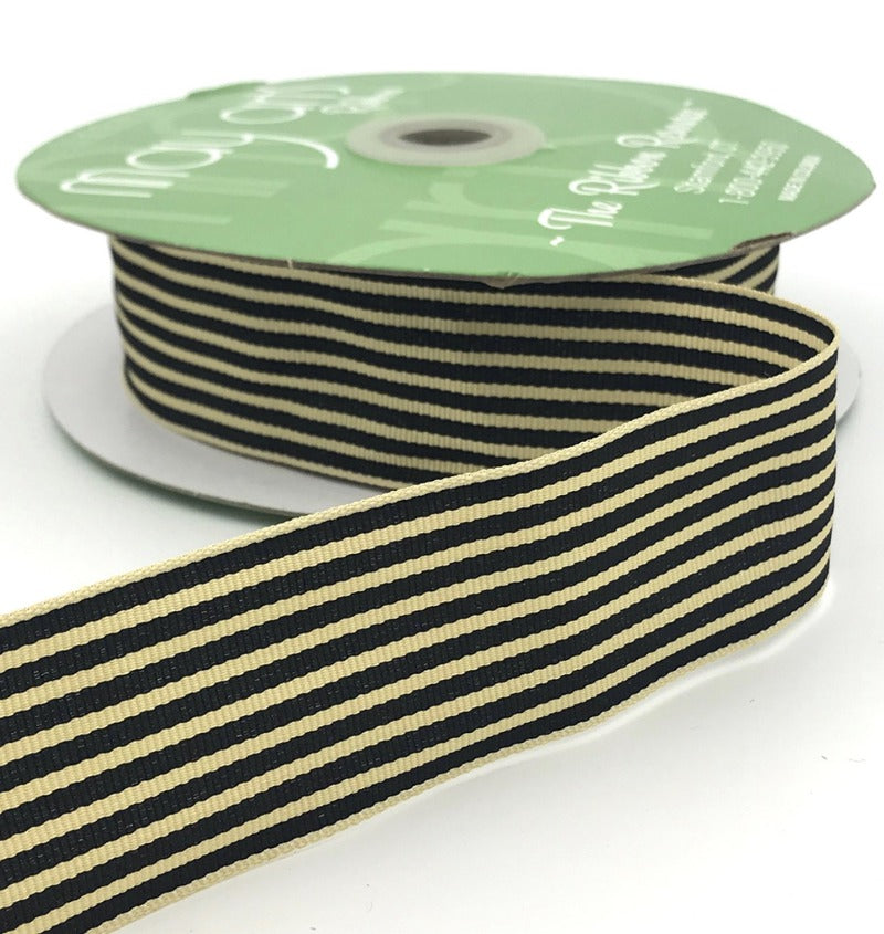Black stripe ribbon