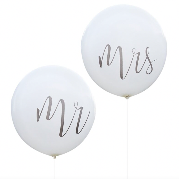 Mr and Mrs Jumbo Balloons