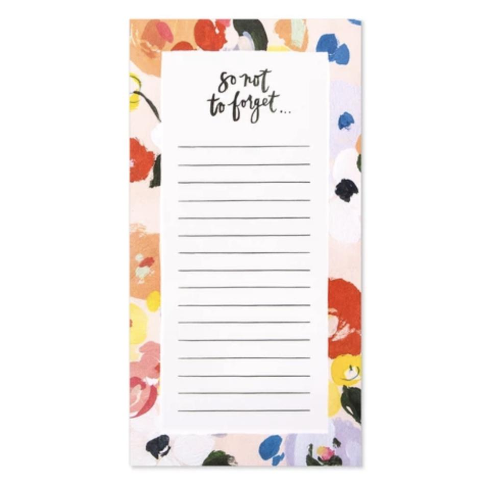 Charlie Forget Not Notepad