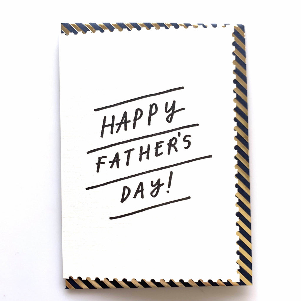 Katie Leamon Gold Father's Day front