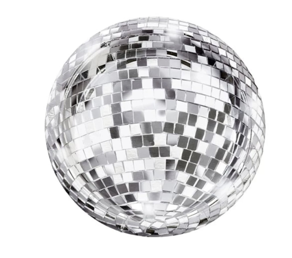Disco Ball Party Plate