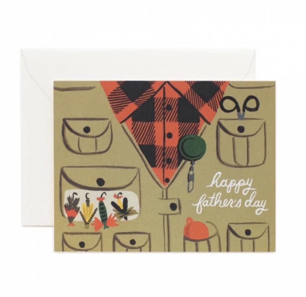 Father's Day Fishing Card rifle paper