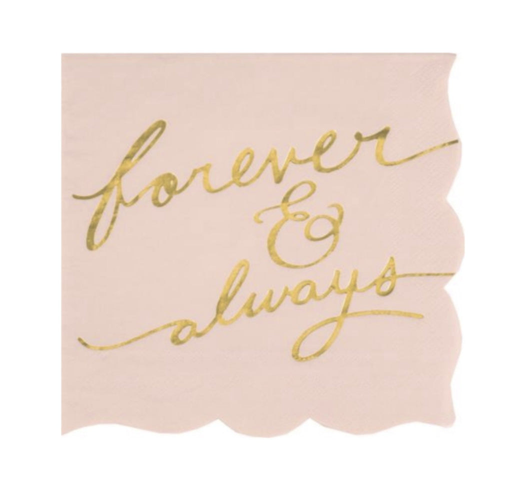 design design forever always napkin