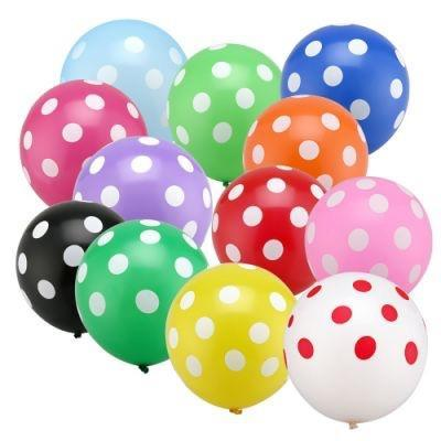 Giant Balloon - Polka Dot (Choose Color)