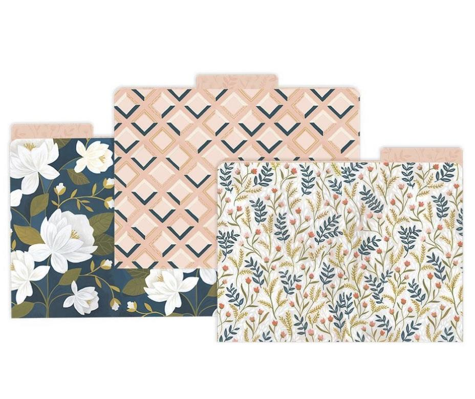 Goldenrod File Folder Set